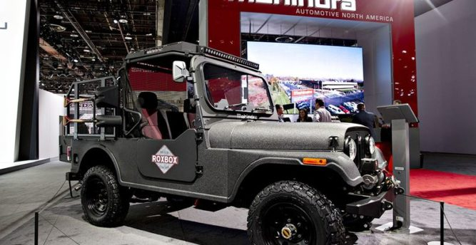 Fiat Chrysler wins Jeep trade case against Mahindra